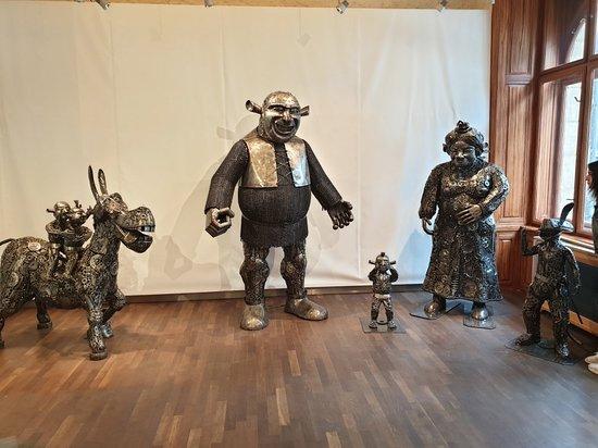 Gallery of Steel Figures