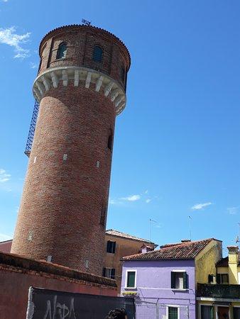 Burano watertower
