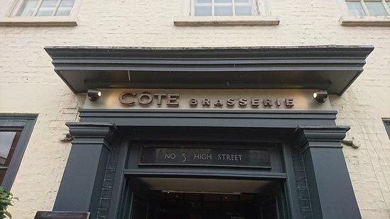 Cote Brasserie - St Albans: 歐式料理餐廳外觀
