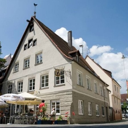 1996 Restaurant Schwarze Henne Ulm.