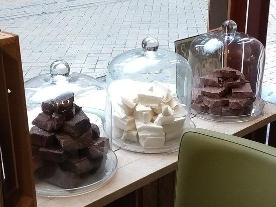 Heerlijk chocolade