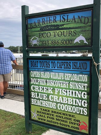 Barrier Island Eco Tours offers many different excursions and private charters.