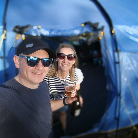 Chester Lakes Camping: Cheers to a good weekend & all the Staff
