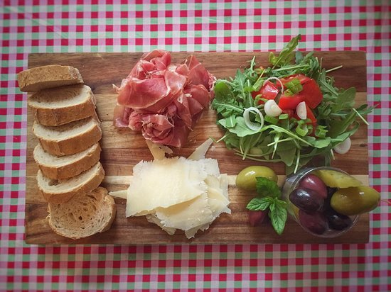 Classic Tapas. Parma Ham, Parmesan Cheese.