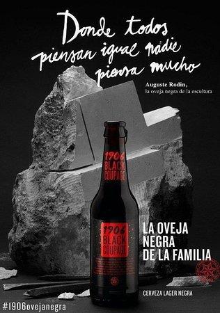 La Taverna - de - L'Espanyol: Cerveza estrella Galicia black