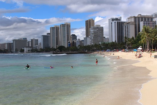 Beautiful Waikiki coastline!