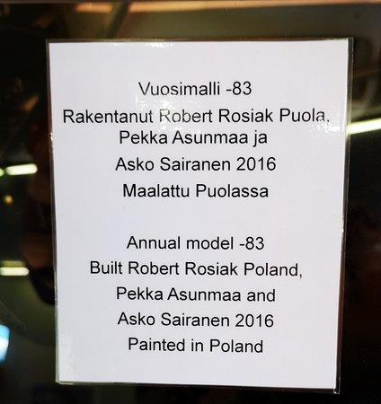 Toysa, Finland: JM-Rally Parc Ferme