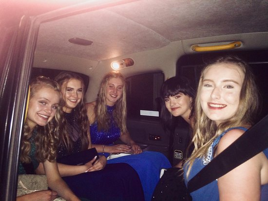 My Taxi Home: Our Longsands Academy Prom passengers.