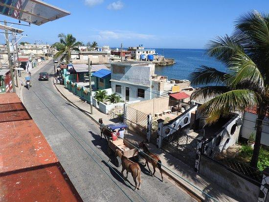 Boca de Camarioca, Κούβα: View from the restaurant