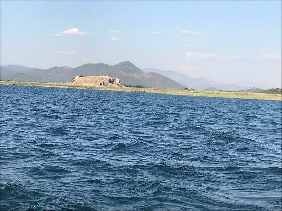 Basar Hotel Dalyan: Avond excursie op het meer naar de modderbaden