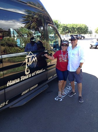 About to start a great day with Hana Tours of Maui