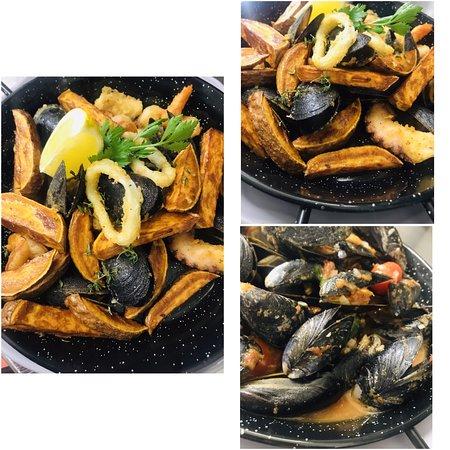 Seafood na žaru