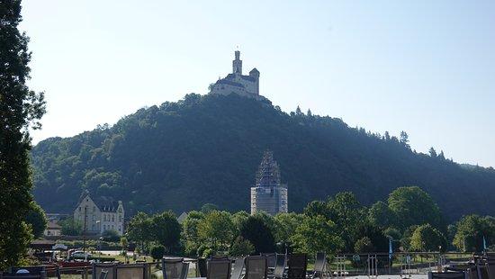 Marksburg Castle - neverer conquered.