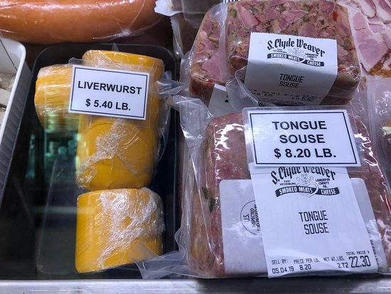 Tongue or liverwurst, take your pick!