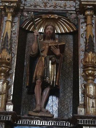 Iglesia de Santa Maria la Blanca: Imagen Santiago El Mayor.