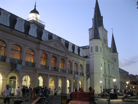 Hotel Villa Convento: Jackson Square and St. Louis Cathedral