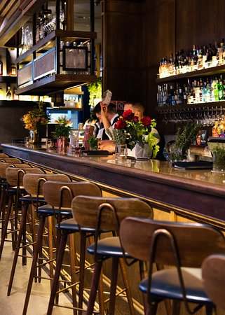 bar & dining section