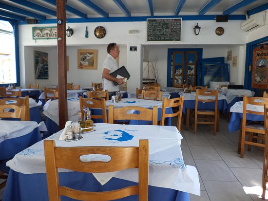 Naoussa Restaurant: The restaurant as it was in 2012.