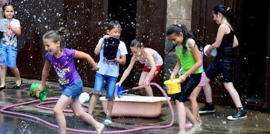 Akhalkalaki, Georgia: Армянский празник Вартевор Вартавар