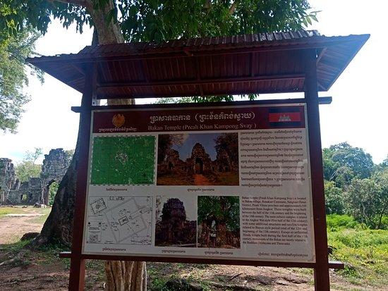 Krong Preah Vihear, Cambodia: preah khan kampong svay temple