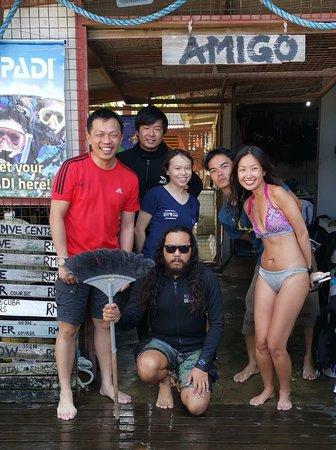 بولاو تيومان, ماليزيا: Picture with the legendary Amigo Aquaman