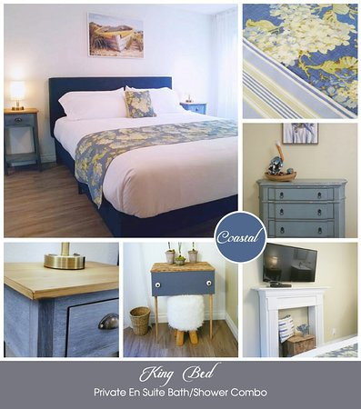 "Be inspired by the Oregon Coast in our beautiful Coastal ""Garden"" Room!"