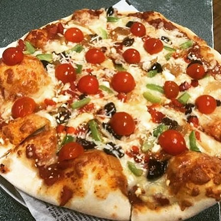 Try out selection of thin Italian crust Pizzas🍕🍕🍕