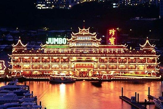Crociera di Hong Kong al tramonto con