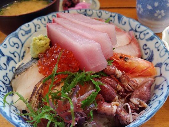 招牌魚生飯