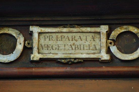Farmacia SS. Annunziata dal 1561: Dettaglio arredi