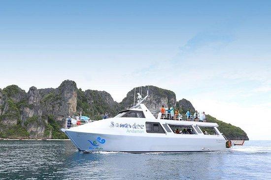Catamarán Blu Anda a Koh Hong, Krabi