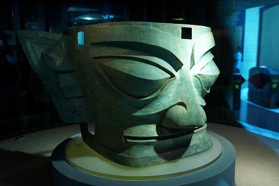 私营成都大熊猫和三星堆青铜器博物馆一日游