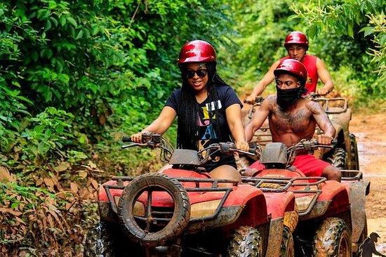Zipline Tour i Cancun inkluderer ATV...