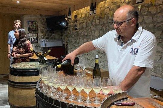 Dégustation de vins de la vallée du...