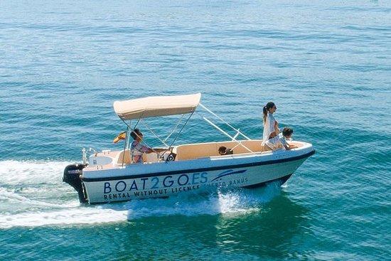 Boot te huur zonder licentie