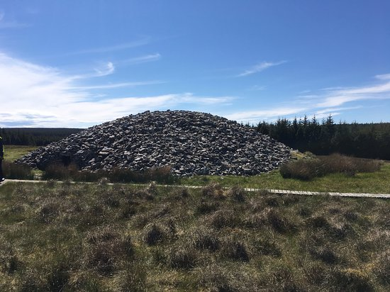 Grey Cairns of Camster  round