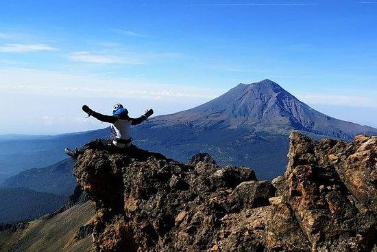 Klatre en vulkan i Mexico