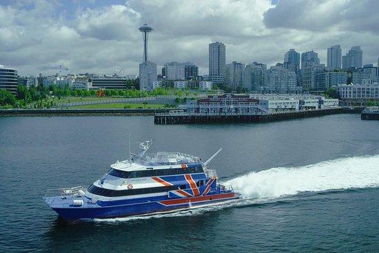 Passenger Ferry tussen Seattle en San ...