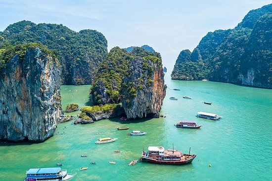 Phuket James Bond Island Tour en canoa...