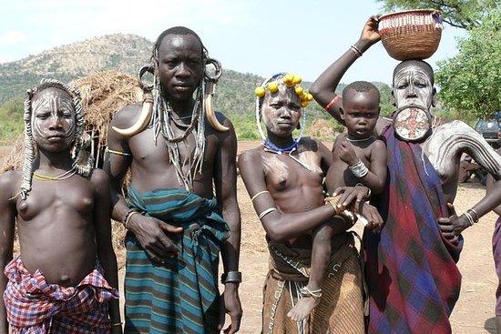 南エチオピア - 文化、部族、そして自然ツアー