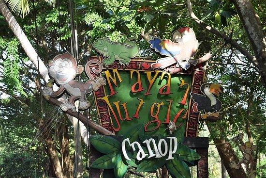 Mayan Jungle Animal Park og Zip-Line...