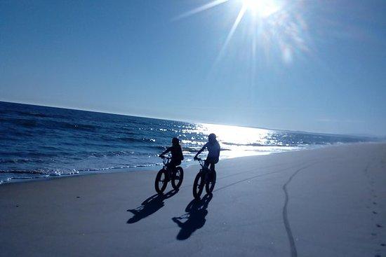 e-Fat-Bike Puesta de sol en la playa...