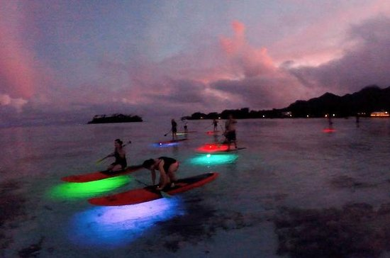 Tour notturno in paddle
