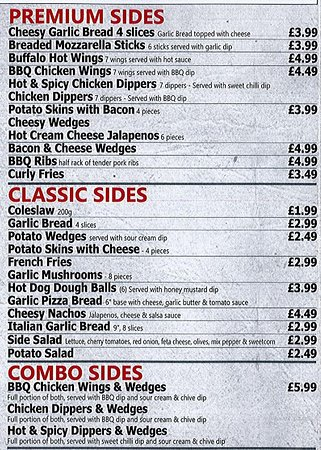 Pizza Time Kettering 113 Avondale Rd Menu Prices