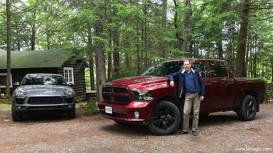 The Outpost Lodge: I rented a truck from Sault Ste Marie