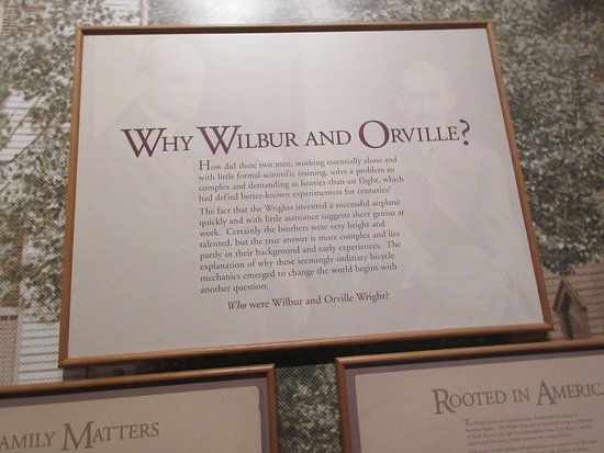 National Air and Space Museum - Wilbur & Orville stuff