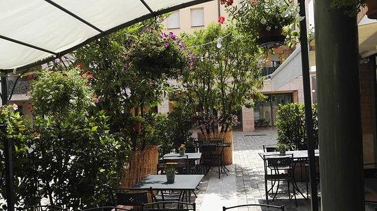 Osteria La taverna di purett: il nostro giardino