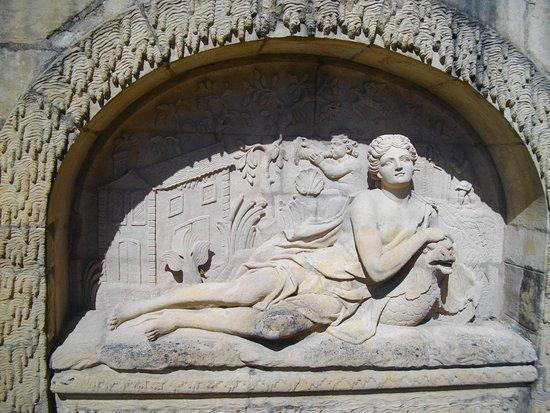 Gorze, فرنسا: Fontaines (détail)