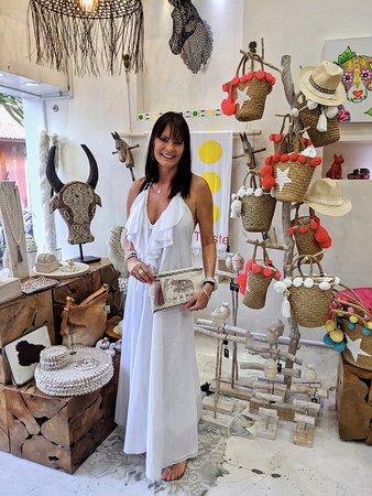 The beautiful & creative Janet, owner of Toko Emporium