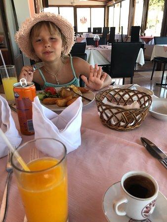 Vettriano's Restaurant: котлетка